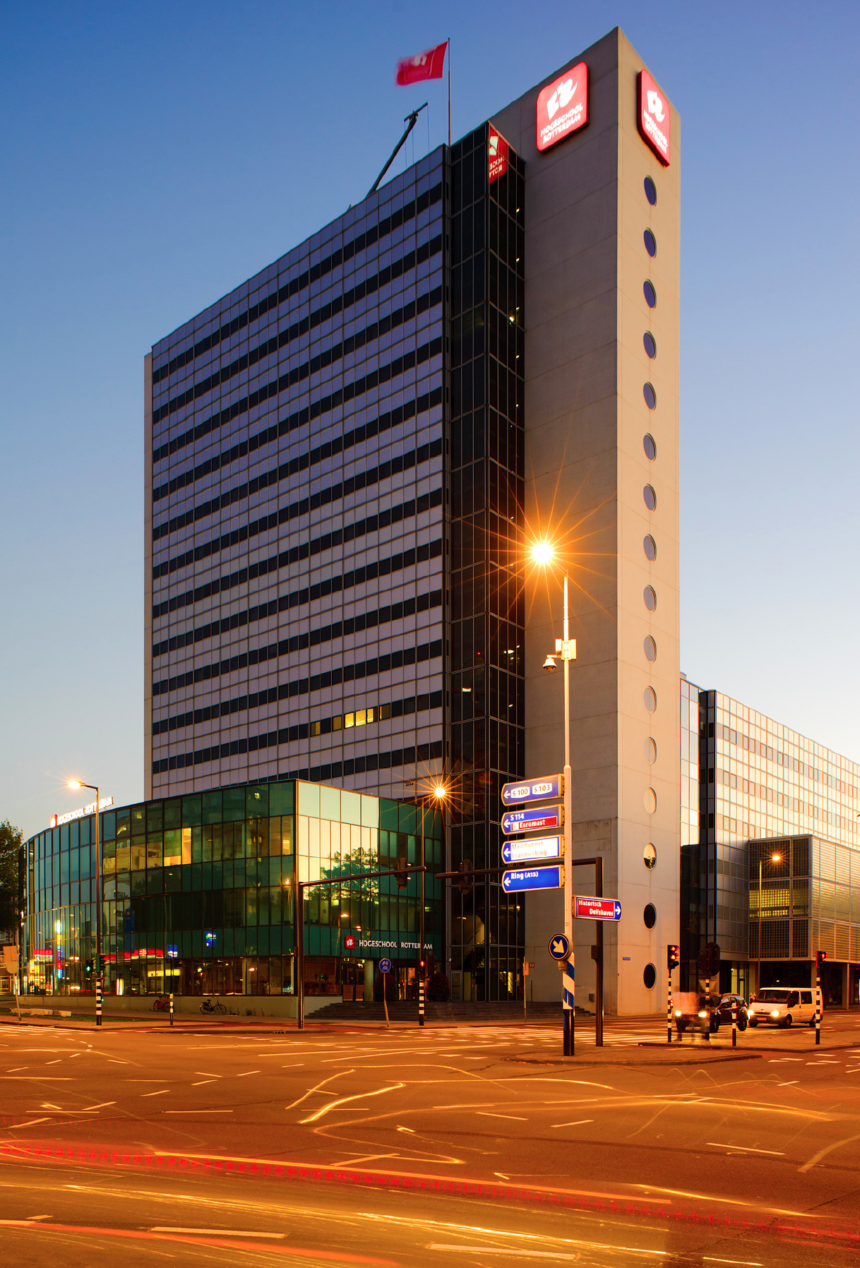 University Building Rotterdam